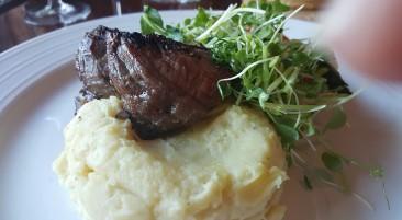 Filet Mignon with Idaho Potato Puree