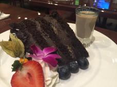 Chocolate Cake with Bailey's Irish Creme
