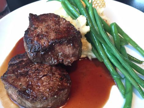 Cocoa Dusted Filet Mignon